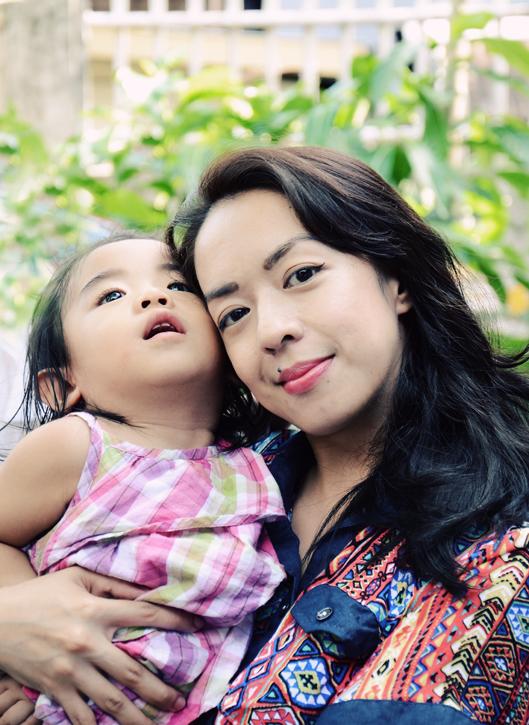 mom and maia