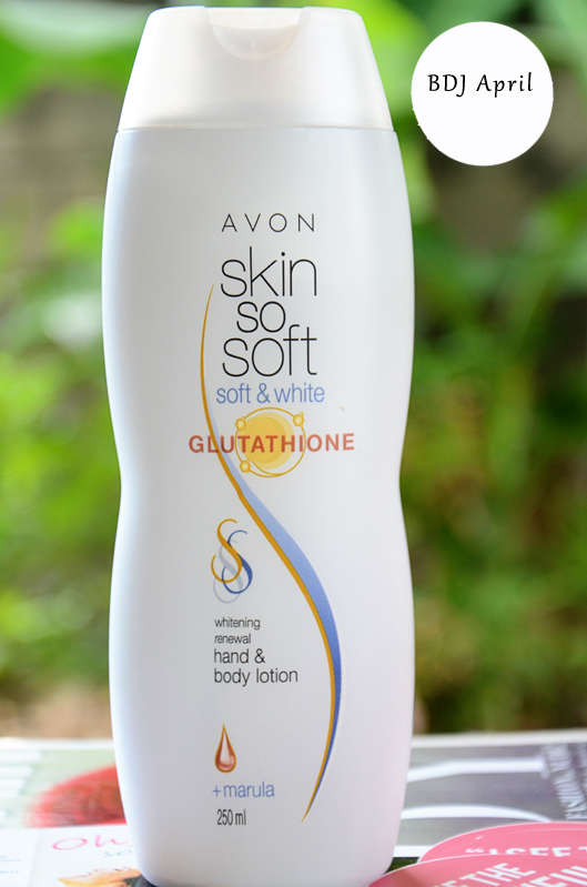 avon sss glutathione lotion with marula