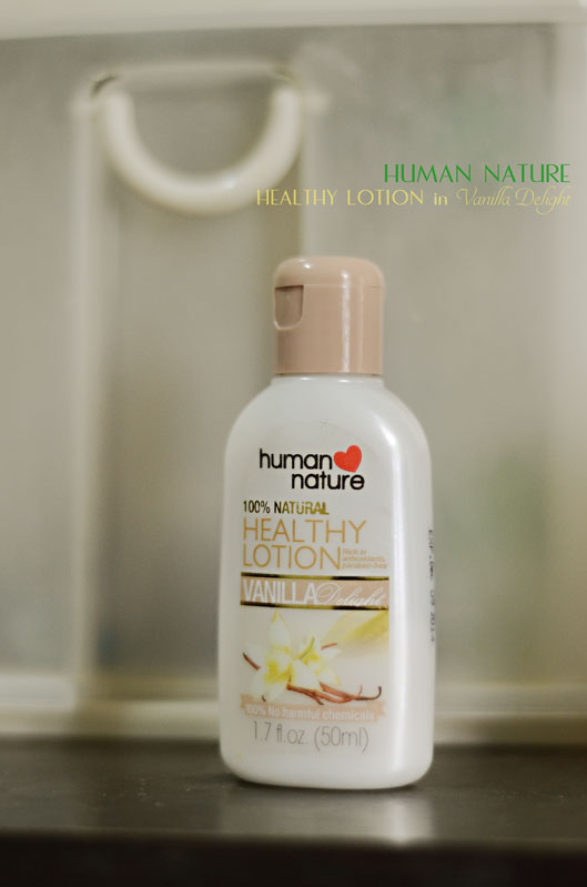 Human Nature Healthy Lotion