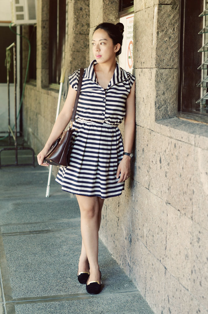 striped-dress-brown-bag1