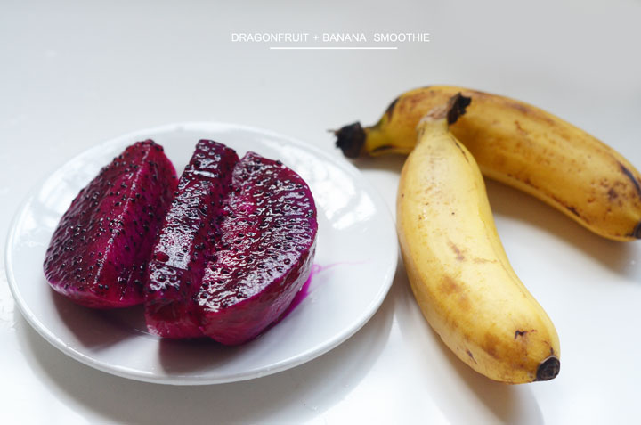 dragonfruit-+-banana-smoothie