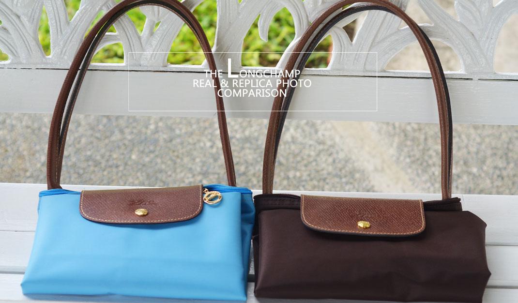 How to Check a Real vs. Replica Longchamp Le pliage nylon fb05597d3a462