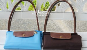 longchamp le pliage real vs fake