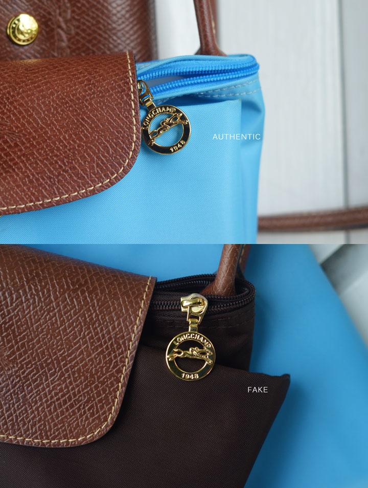 e251c1fc80b4 How to Check a Real vs. Replica Longchamp Le pliage nylon